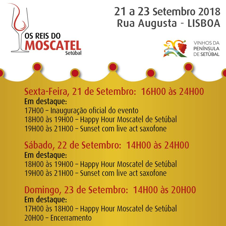 Os Reis do Moscatel – Setúbal